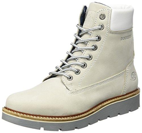 Dockers by Gerli Damen 41JU201-300260 Desert Boots, Elfenbein (Ice), 37 EU