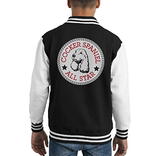 tar Converse Logo Kid's Varsity Jacket (All-star-boxer)