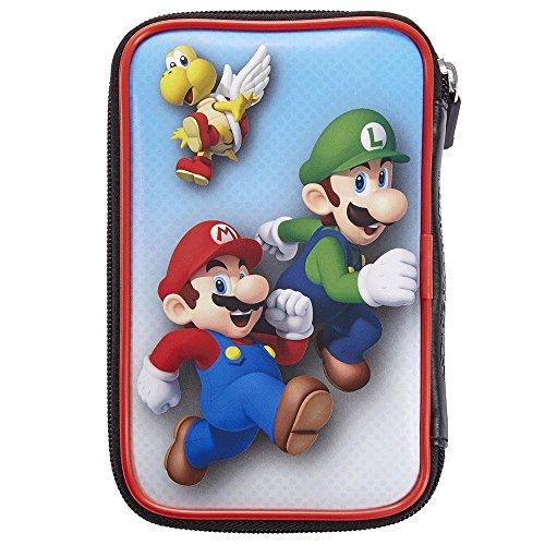 Offizielle Nintendo New 3DS XL / 3DS XL – Tasche / Hülle | 4 Motive zur Auswahl | Schützt den Nintendo 3DS ; Motiv: Mario und Luigi