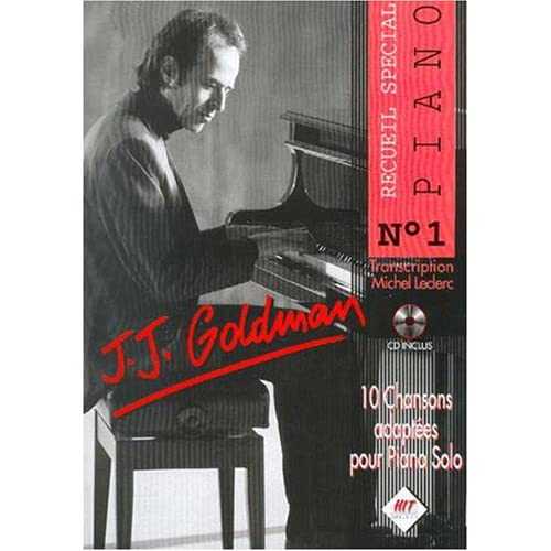Jj Goldman Piano N.1+CD