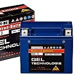 Panther Motorradbatterie Gel 12V 18Ah 52013 YTX20-BS