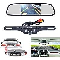 Macchina fotografica di sostegno e monitor kit, 10,9cm auto specchietto