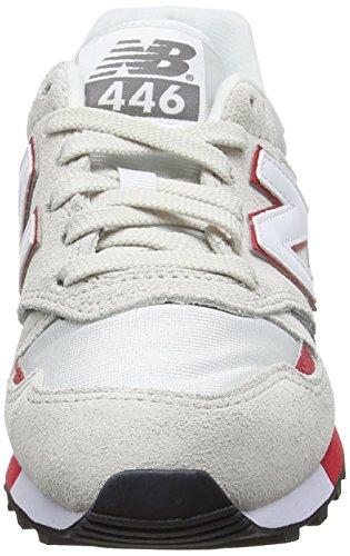Balance Grey Erwachsene Red New Light Sneaker U446bn Unisex Mehrfarbig UnqwBBRdPO