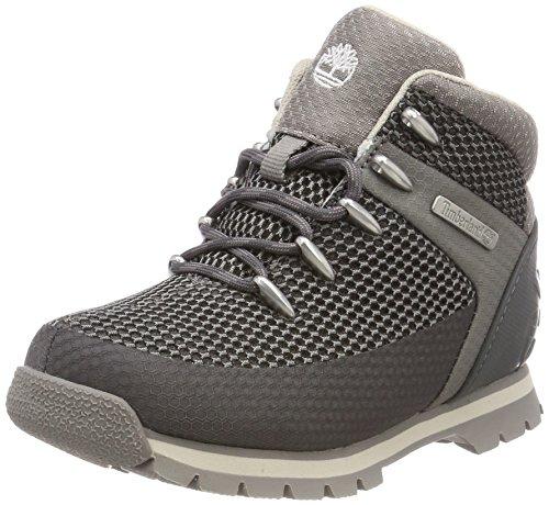 Timberland Unisex Kinder Euro Sprint Fabric Chukka Boots, Grau (Dark Grey C64), 33 EU