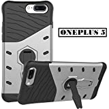 Vinnx Hybrid Armor Design Detachable And 360 Degree Portrait And Landscape Stand-up Feature Dual Layer Protective Shell Hard Case For OnePlus 5 - B074VBZZQX