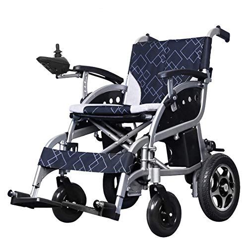 TWL-Wheelchair Elektrisch Angetriebener Rollstuhl, Der Leichtes 27Kg, Motorisierten Rollstuhl-Mobilitäts-Roller Faltet, Der für Haupt- und im Freiengebrauch, Sitzbreite 46Cm Bequem -