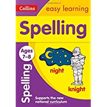 Spelling Ages 7-8 (Collins Easy Learning)
