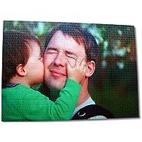 Solopuzzles Puzzle Personalizado con tu Foto Favorita de 1.000 Piezas. Máxima Calidad de impresión. Tamaño: 68 x 48 cm. Envío Gratuito, Entrega en 24/48 Horas