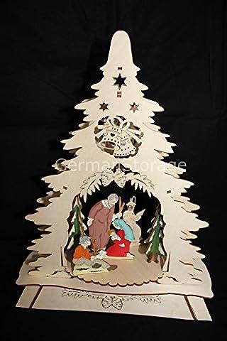 'Christmas–Double, BEL. Window Sticker