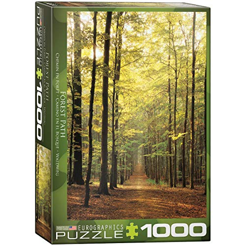 Eurographics 03846 Cammino nella Foresta, Puzzle, 1000 Pezzi