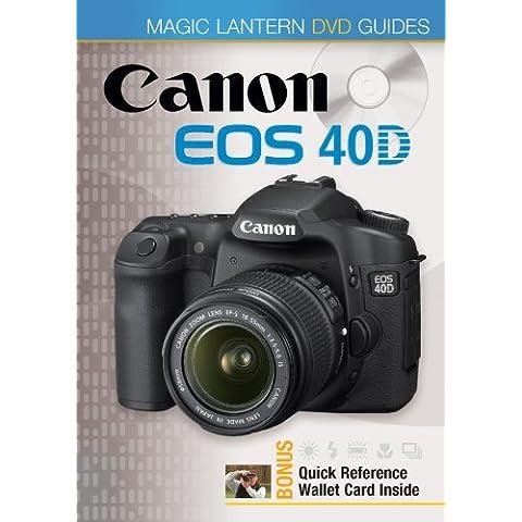 Canon EOS 40D (Magic Lantern DVD Guides)