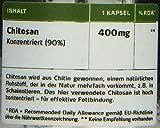 Greenfood Chitosan, Fett-Blocker, 400 mg, hochdosierter Extrakt, 120 Kapseln