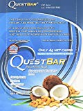 Quest Bar Coconut Cashew: Box of 12, Pack of 3