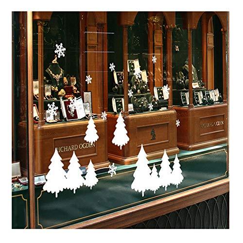 HROIJSL Weihnachts Wandaufkleber 2019 Frohe Weihnachten Haushaltszimmer Wandaufkleber Wanddekor Aufkleber Abnehmbare Weihnachtsbaumdecke Weihnachtsdeko Weihnachtsbaum Rock