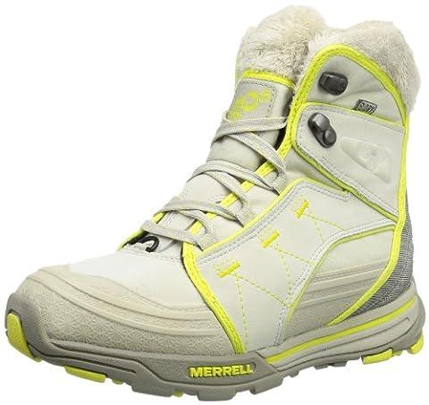 Merrell SNOWFURY WTPF J48296, Damen Schneestiefel, Beige (BIRCH), EU 41 (UK 7.5) (US 10)