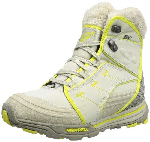 Merrell Senhoras Snowfury J48296 De Trekking E Caminhadas Botas Bege