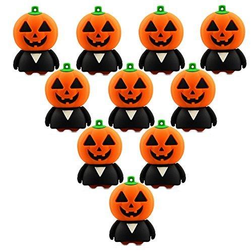 (10 Stück Mr. Kürbis 8GB USB-Flash-Laufwerk Großhandel für Halloween)