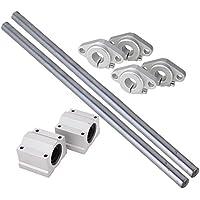 cnbtr Vertikal 12mm Linear Motion Kugellager Slide BUSCHING & Linear Schaft Optische Achse mit Rod Schiene Unterstützung Set of 8