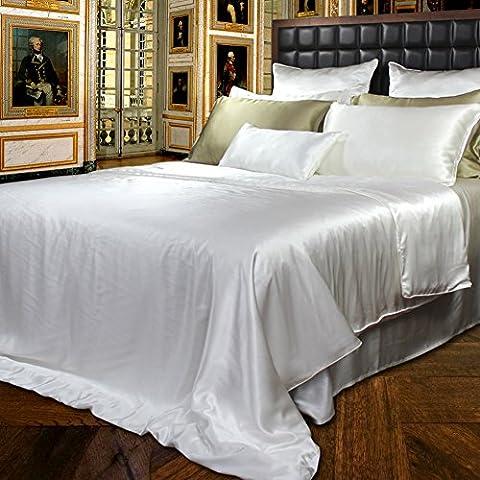 pura ropa de cama de seda/Gruesa inconsútil seda cama Mikasa-A 200x200cm(79x79inch)