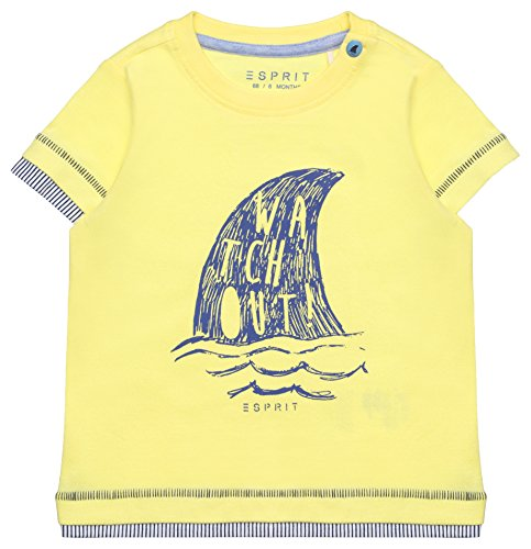ESPRIT KIDS Baby-Jungen T-Shirt RL1010202, Gelb (Straw 712), 80 Preisvergleich
