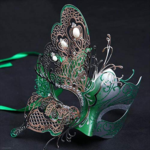 DABUOT Halloween-Maske Sexy Erwachsene Dress Up Maske,Green