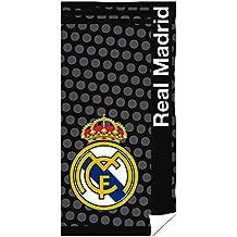 Toalla de Playa con Escudo del Real Madrid La Liga (75 cm x 150 cm