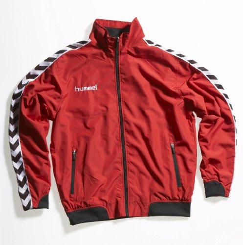 Anzug Hummel (hummel Kinder Trainingsanzug Still Authentic Micro Suit, rot / schwarz, 164 ( 14 ), 51-278,)