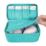 WOSON Multifunktional Faltbare BH Unterwäsche Bra Tasche Wasserdichte Aufbewahrungstasche Sockentasche Reisetasche Beutel