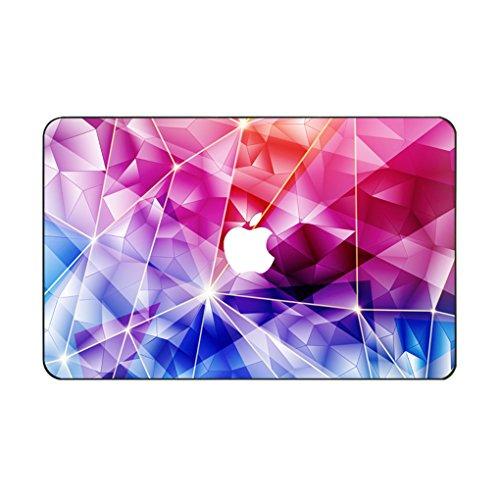 kikhorse Wasserfarbe Kollektion Hochwertige Hartschale Ultra Dünn Snap Case Schutzhülle Für MacBook Pro 15 Zoll mit CD/DVD Laufwerk (Modell: 1286) (Geometrische 5) (Halloween Dvd-cover 5)