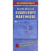 Hildebrand's Travel Map: Lesser Antilles - Guadeloupe, Martinique