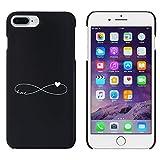 Negro 'Símbolo del Amor del Infinito' Funda / Carcasa para iPhone 7 Plus (MC00127281)