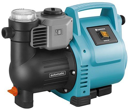 GARDENA Station de pompage 3500/4E : pompe domestique robuste, entièrement automatique, fréquence de clignotement LED, débit...