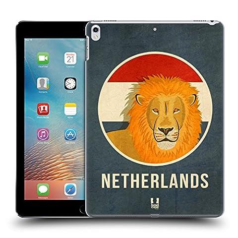 Head Case Designs Pays-Bas Animaux Patriotiques Étui Coque D'Arrière Rigide Pour Apple iPad Pro 2 10.5 (2017)