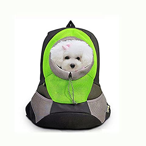 crazysell tragbar Pet Front Carrier mit Mesh Kneipe Pack/Head Out
