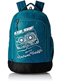 American Tourister 28 Ltrs Teal Casual Backpack (AMT PING BACKPACK 02 - TEAL)