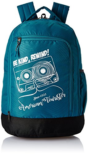 American Tourister 28 Ltrs Teal Casual Backpack (AMT PING BACKPACK 02 – TEAL)