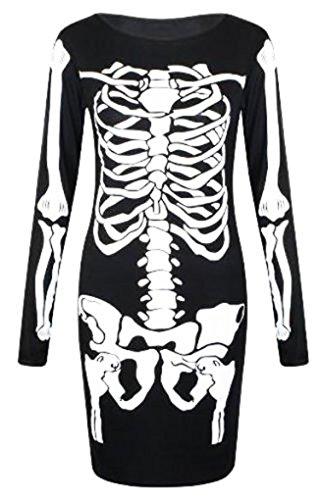 Generic - Robe - Moulante - Femme noir noir 38 Black Dress
