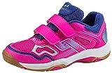 Pro Touch Unisex-Kinder Rebel II Jr. Klett Multisport Indoor Schuhe, (Pink/Navy/Turquoise 000), 37 EU