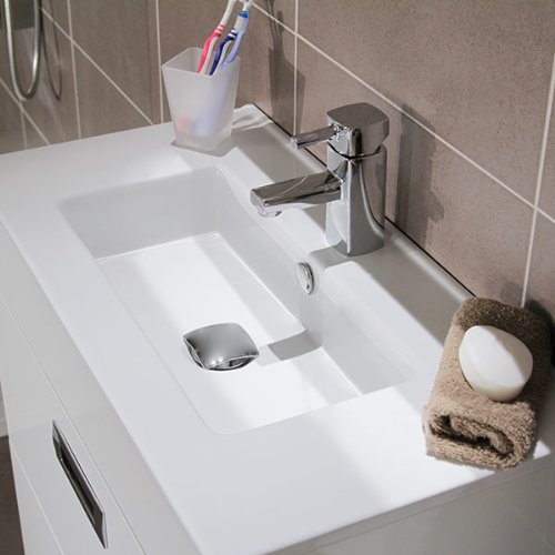 600 Vanity Unit With Basin For Bathroom Ensuite Cloakroom