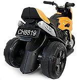 Talson Kindermotorrad in Schwarz-Gelb - 4