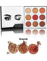 OYOTRIC 9 Couleur Mousse Smoky Ombre à Paupières Palette Mat Fard à Paupières Shimmer Make Up
