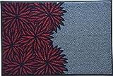 Wash&Dry Waschbare Fußmatte - Dahlia Redish 50x75 cm Fußabstreifer