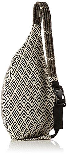 KAVU Rope Bag - Einzigartiger Outdoor Crossbody Rucksack Trifft Jeden Alltag Und Macht Es Mit Stil Mehrfarbig (Deco Tiles)