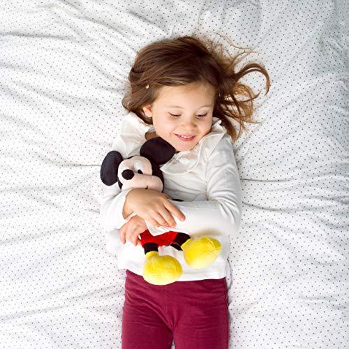 51hSm8ujxhL - Simba 6315874842-Disney Peluche, Mickey, 25cm