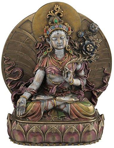 """CRAFTSTRIBE 10.5"""" Sammlerstück Buddhismus Statue Figur Buddha Skulptur"""
