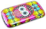 thematys Samsung Galaxy S3 mini i8190 / i8200 Nacht Eule Owl Hard Case Schutz-Hülle Cover Etui