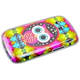 Samsung Galaxy S3 Mini i8190/I8200 Chouette Owl Hard Case de protection Housse Cover Etui thematys®