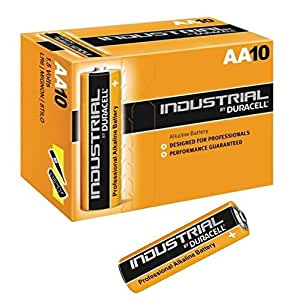 Duracell Industrial battery LR6 AA(Pack of 10)