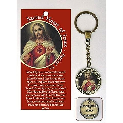Sacred cuore di Gesù in preghiera &