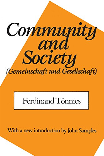 Community and Society (English Edition)